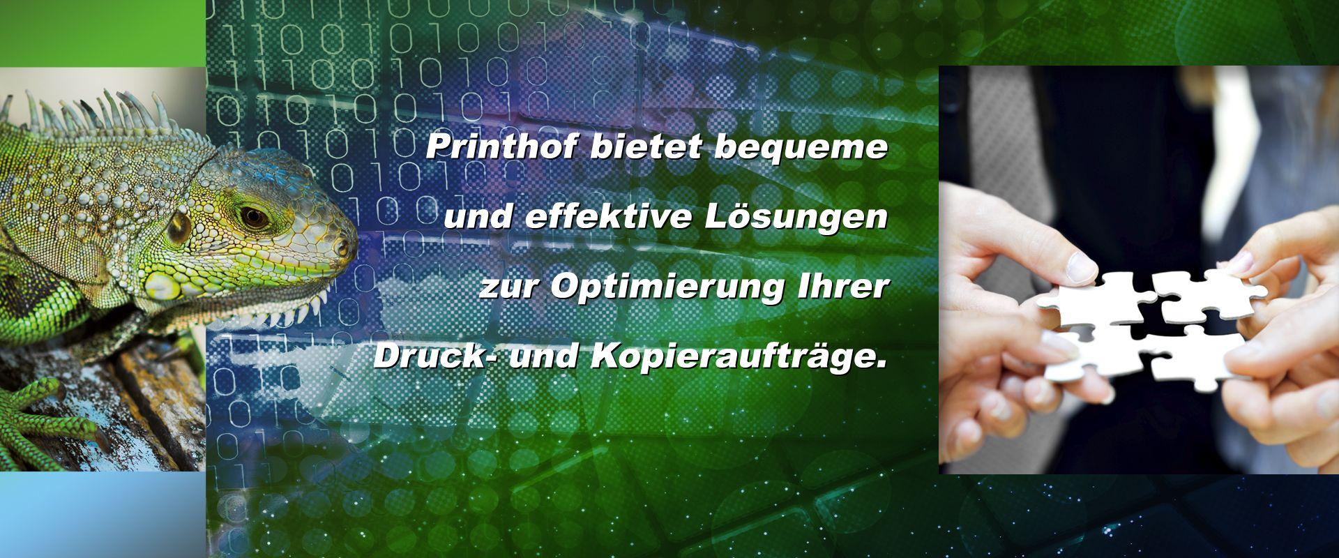 Printhof-Dienstleistungen