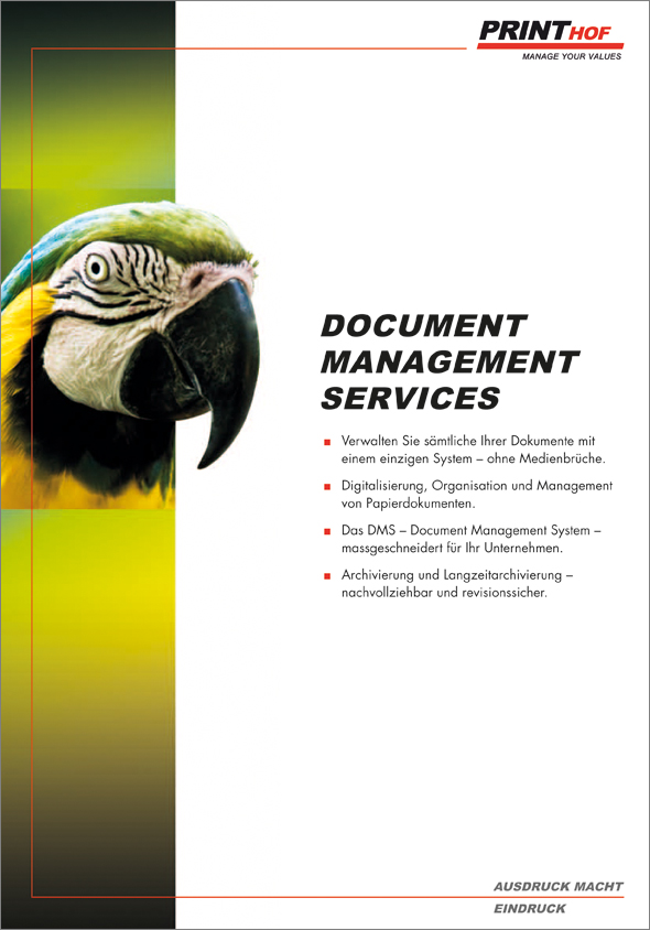 Document Management Services by Printhof