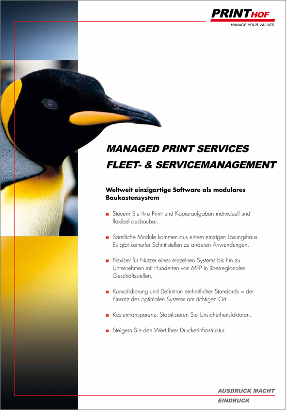 Managed Print Services by Printhof