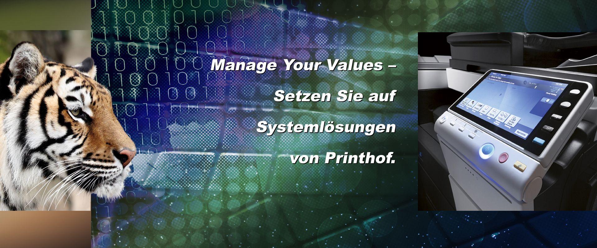 Verbrauchsmaterial für Drucksysteme by Printhof