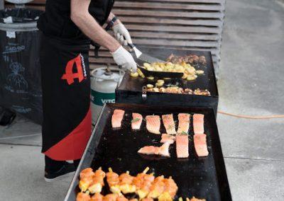 Frisch zubereitete Köstlichkeiten