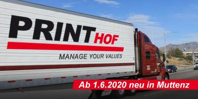Printhof Umzug nach Muttenz